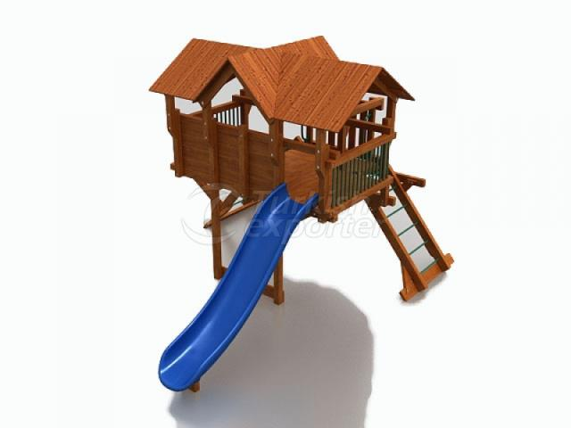 Wooden Kids Playground BAB-P-15524