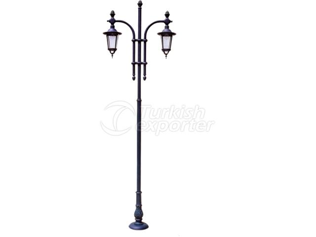 Double Lighting Poles