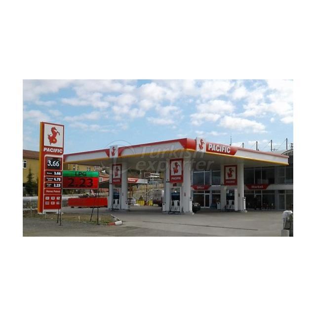 Fuel Station Cladding