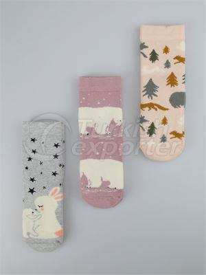 Kids' Socket Socks - 15371 (K06)