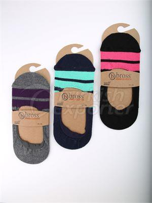 Women's Invisible Socks - 13260 (W82)