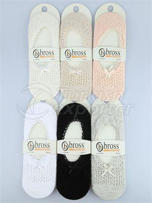 Women's Invisible Socks - 09233(W48)