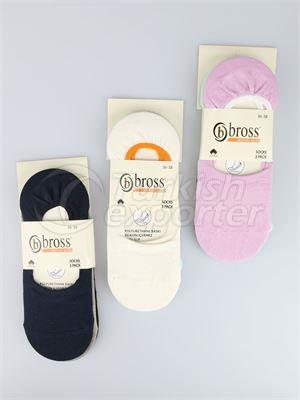 Women's Invisible Socks - 13977 (W46)