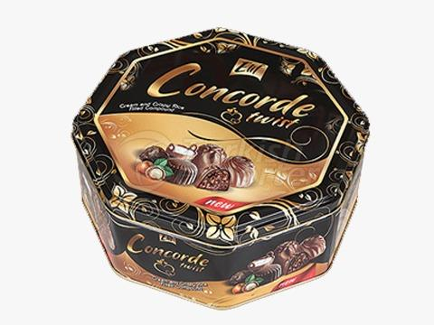 Elif Concorde Octagon Tin Box