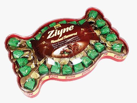 Elif Ziyne Bow Tie P.V.C Gift Box