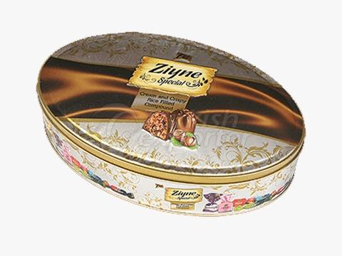 Elif Ziyne Elips Tin Box