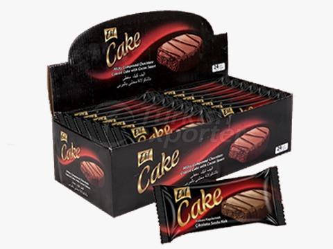 Elif Elips Cake Cacoa Coated
