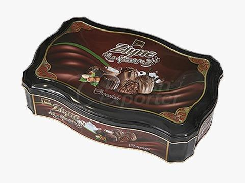 Elif Ziyne Bumped Chest Tin Box