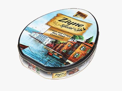 Elif Ziyne Egg Tin Box