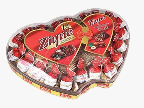 Elif Ziyne Double Heart P.V.C Gift