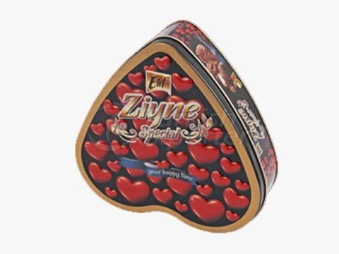 Elif Ziyne Heart Tin Box