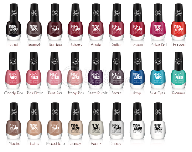 MineVital Breathable Nail Polishes