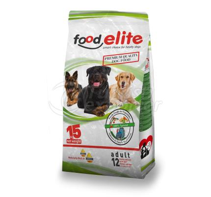 Food Elite turkey Meal Dog Food