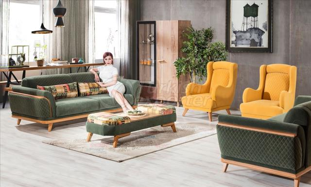 Madrid Sofa Set