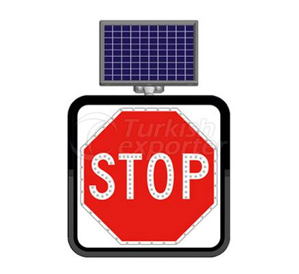 Solar Flashing Traffic Led Signs    11846 FL