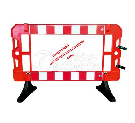 Safety Sign Barricades  12512 FB R
