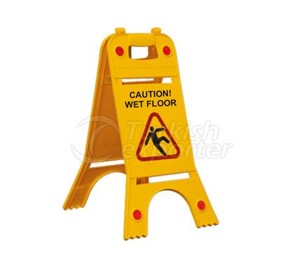 Foldable Floor Sign  108 A F