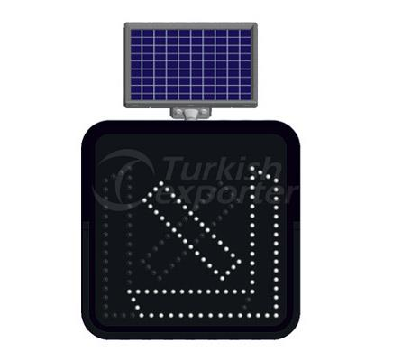 Solar Road Maintenance Led Signs   11820FL