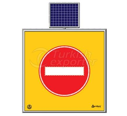 Solar Road Maintenance Led Sign  11768 S-LD