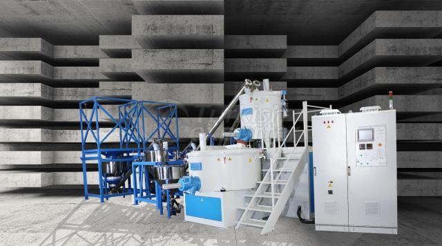 Automatic Powder Dosing -H Tipi Sistem