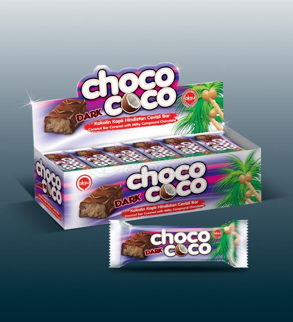 ChocoCoco Dark Cocolin With Coconut
