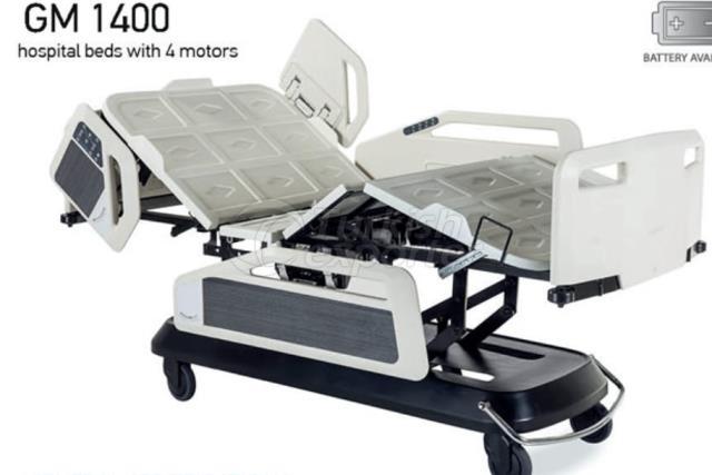 GM 1400 4 lits d'hôpitaux