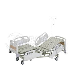 Lit d'hôpital de 2 moteurs