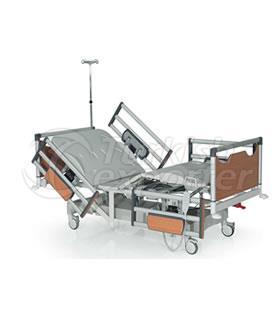 Lit d'hôpital de 3 moteurs