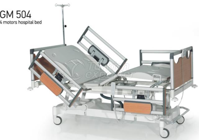 Lits d'hôpital GM 504 4 moteurs