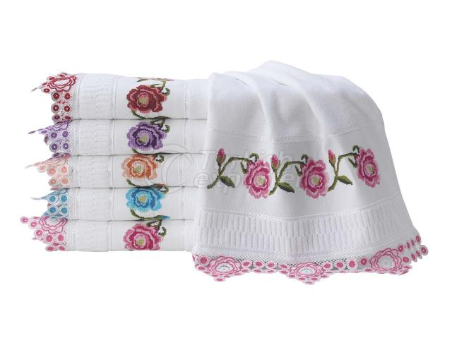 ROZA NEEDLE LACE TOWEL
