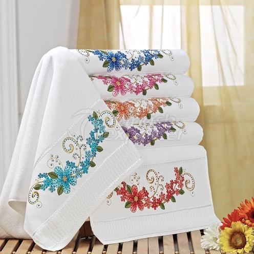 GARDENYA EMBROIDERED BLING TOWEL