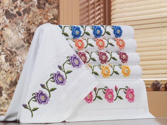 CANVAS ROSE COTTON TOWEL