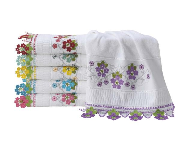 FLORYA NEEDLE LACE TOWEL