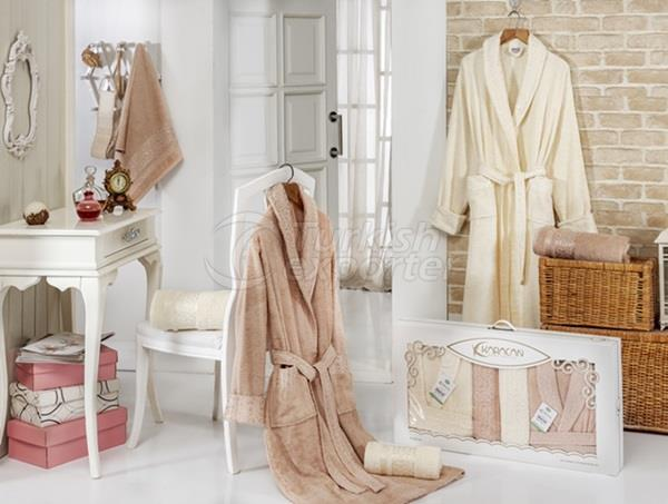 AYBUKE BAMBOO BATHROBE SET