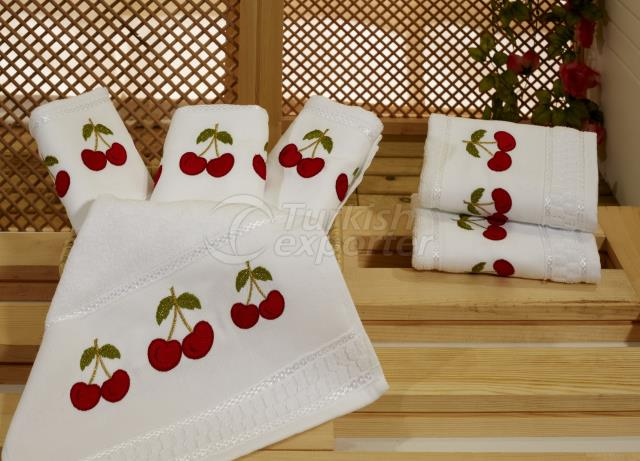 CHERRY KITCHEN TOWEL