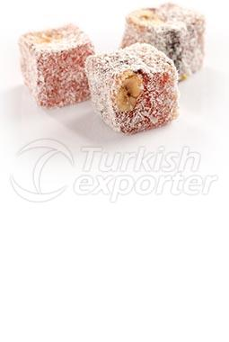 Double Baked Hazelnut Turkish Delight