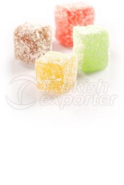 Double Baked Fruity Turkish Delight