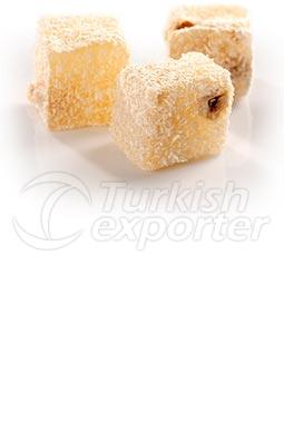 Coconut Hazelnut Turkish Delight