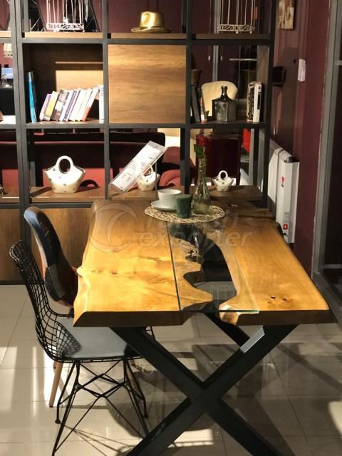 طاولة مازل وود - تصميم خاص