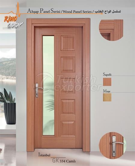 Wooden Panel Door - Istanbul
