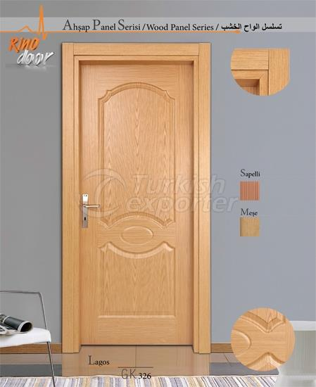 Wooden Panel Door - Lagos