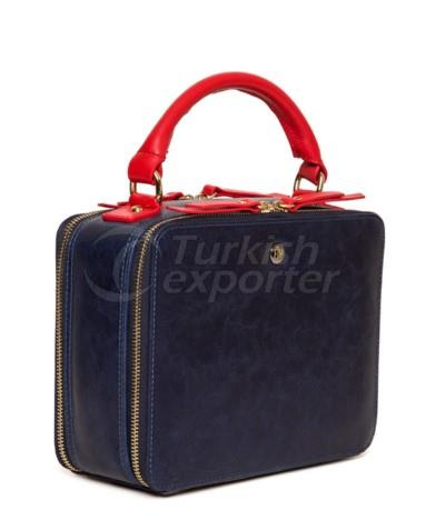 Street Magnetizer Navy Blue Red Top-handle Tote Bag