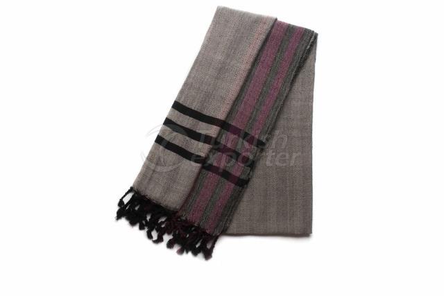 نسج منشفة تركية ، Peshtemal-Bath Towel-Shawl ، رمادي ، أسود ، أحمر