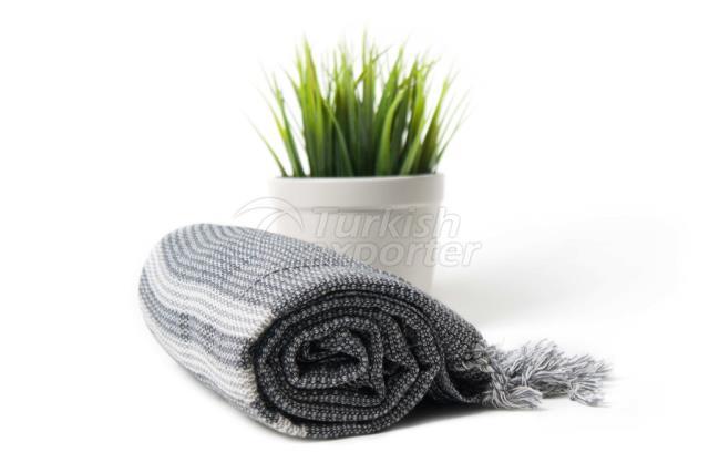 نسج حمام البشمش التركي التقليدي ، منشفة حمام قطنية 100٪