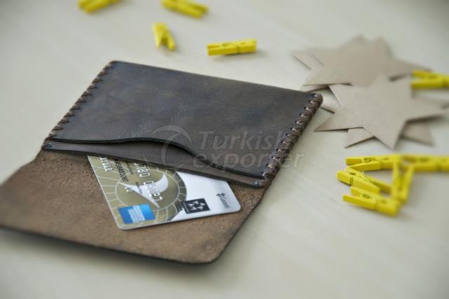 Кошелек тонкий кошелек, кожаный бумажник ручной работы, мужской кожаный кошелек, личный кожаный кошелек