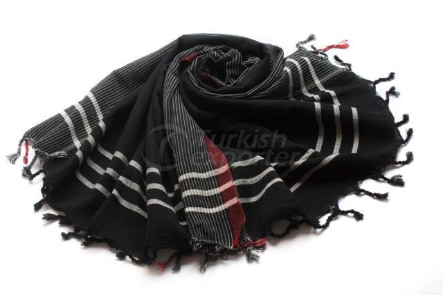 Ткачество Турецкое полотенце, Пештемал-банное полотенце, черный, красный