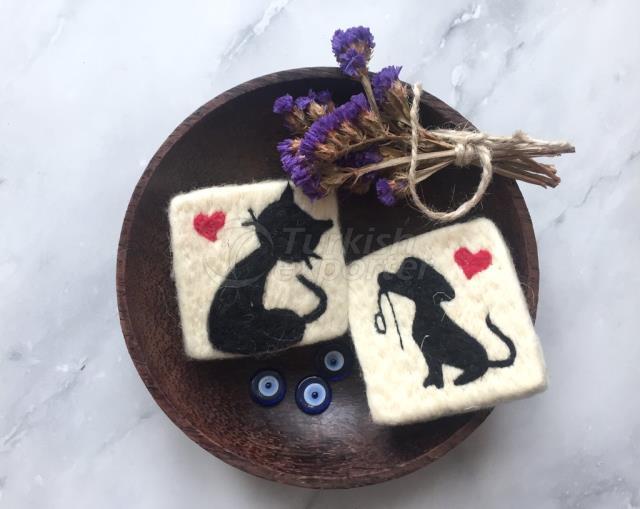 2 Мыло для кошек и собак, мыло для иглоуловителя, ручной мыло для мытья шерсти, натуральный эксфолиатор