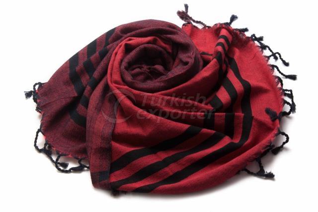 حياكة منشفة تركية ، منشفة بيشتمال ، حمام ، شال ، أحمر ، أسود