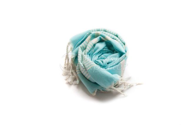 Набор из 2, Тканые полотенца для полотенца с полотенцем из пескира, синий