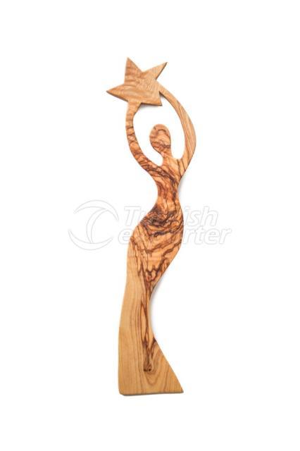 من ناحية وظيفة الخشب ملعقة ، تصميم امرأة
